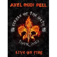 Axel Rudi Pell - Live on Fire (Live Recording/Live Recording/ 2DVD) (Music CD)