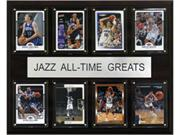 C & I Collectables 1215ATGJAZZ NBA Utah Jazz All-Time Greats Plaque