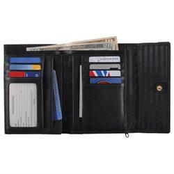 Royce Ladies' Leather Passport Wallet