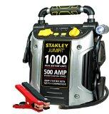 Stanley JC509 1000 Peak Amp Jump Starter with Compressor