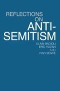 """Dissecting how facile accusations of """"anti-Semitism"""" are used to stifle dissent.Since the inception of the """"War on Terror"""", Israel has become increasingly important to Western imperial strategy and ever more aggressive in its policies towards the Palestinians. A key ideological weapon in this development is the cynical and unjustified accusation of 'anti-Semitism' to silence protest and dissent.For historical reasons, this tactic has been deployed most forcefully in France, and in the first of the two essays in this book French writers Alain Badiou and Eric Hazan demolish the 'anti-Semitism is everywhere' claim used to bludgeon critics of the Israeli state and those who stand in solidarity with the 'banlieue' youth"""