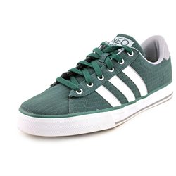 Adidas SE Daily Vulc Mens Green Fabric Sneakers Shoes