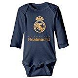 Real-Madrid-Logo Newborn Infant Bodysuits Baby Onesies