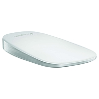 Logitech Ultrathin Touch Mouse T631 For Mac - Optical - Wireless - Bluetooth - White - Usb - Touch Scroll - Symmetrical 910-003856