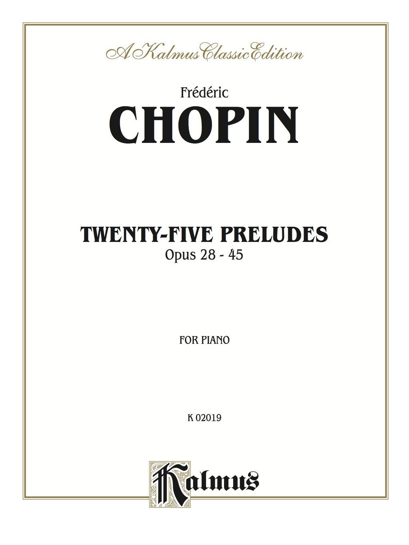 Twenty-five Preludes  Op. 28-45: For Piano (ebook)