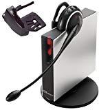 Jabra GN9125 Mono Flex-Boom Bundle Wireless Headset for Deskphone with Lifter