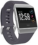 Fitbit Ionic Watch - Wrist - Optical Heart Rate Sensor, Accelerometer, Gyro Sensor, Altimeter, Ambient Light Sensor - Sleep Monitor, Music Player, Text Messaging, Calendar, Clock Display, Alarm - Heart Rate, Steps Taken, Distance Traveled, Calories Burned Fb503wtgy