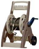 Suncast 175-Foot Capacity Hosemobile Garden Hose Reel Cart, Bronze/Taupe JNF175B