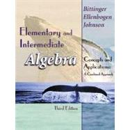 Elementary and Intermediate Algebra : Concepts and Applications: A Combined Approach