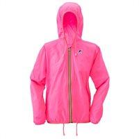 Claudette Jacket-- Neon Pink   By K-way