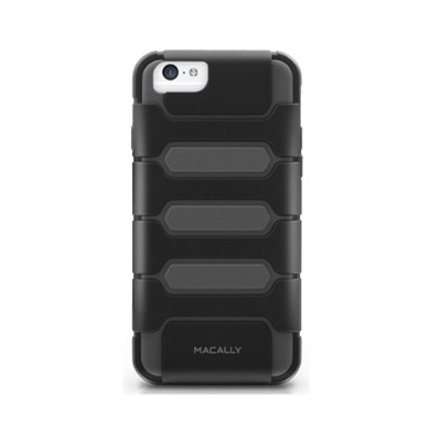 Macally Peripherals Tankp6mb Durable Protective Case For Iphone 6s & 6 - Black / Gray