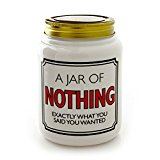 "Our Name is Mud ""Nothing"" Ceramic Jar with Lid, 5.5 Inches"