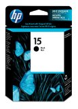 HP 15 Black Original Ink Cartridge (C6615DN)