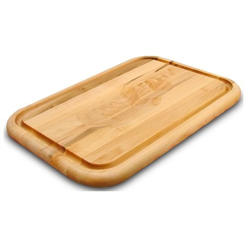 Reversible Wood Cutting Board w Contoured Top Gourmet Collection