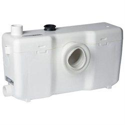 Saniflo Toilet Grinder Pump. 013 H 10 3/4'' x W 21'' x D 7'', White