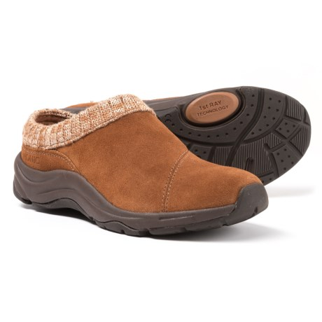 Action Arbor Clogs - Suede, Sweater-knit Collar (for Women)