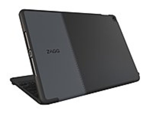 Zagg Im4zfn-bb1 Keyboard/folio Cover Case For Ipad Mini 4 - Black - Dust Resistant Interior, Ding Resistant Interior, Scratch Resistant Interior - Pol