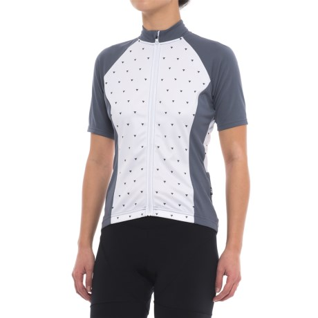 Chrono Sport Sublimated Cycling Jersey - Upf 20 , Short Sleeve (for Women)