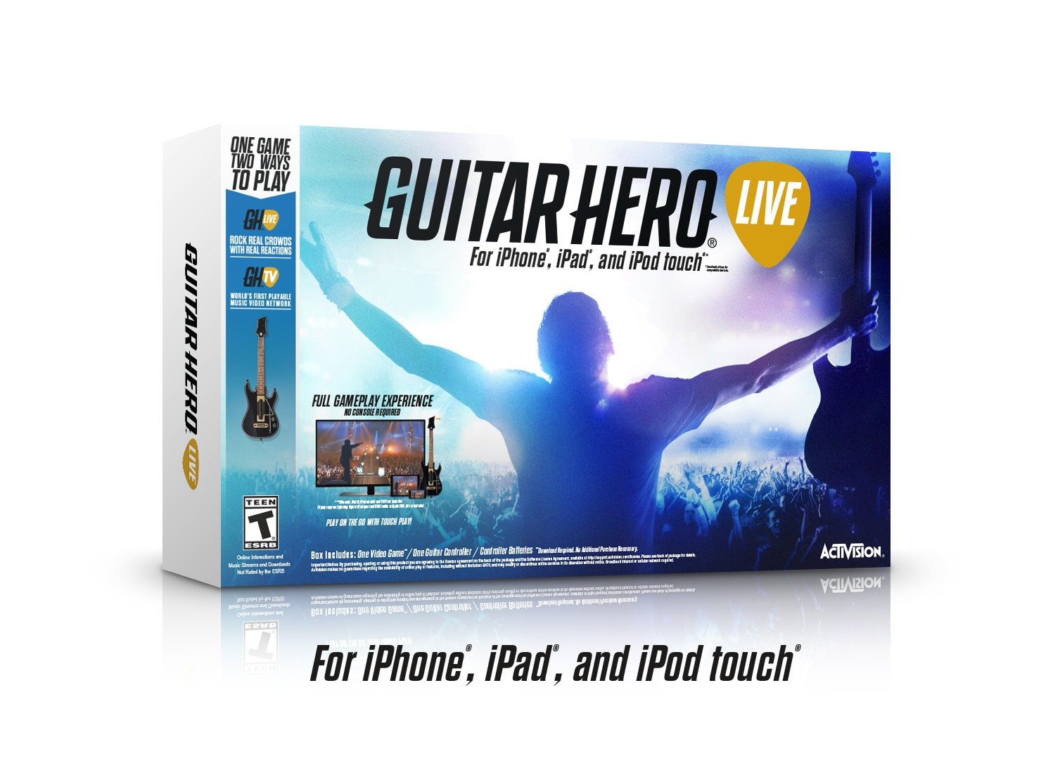 Activision 87435 Guitar Hero Live Bundle Mobile