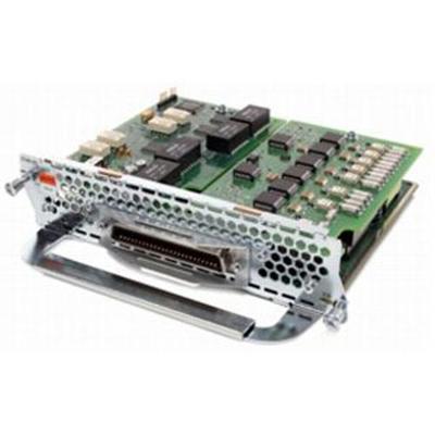 Cisco Evm-hd-8fxs/did= Voice / Fax Module - Evm - Analog Ports: 8 - For  2821 4-pair  28xx  28xx V3pn  29xx  38xx  38xx V3pn  39xx