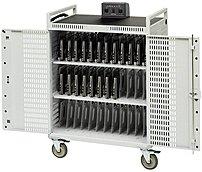 "Bretford Netbook36-d 36-unit Intelligent Netbook Cart - Push Handle Handle - 4 Casters - Steel - 33"" Width X 28.5"" Depth X 45"" Height"