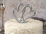 Two Hearts Beat As One Cake Topper Wedding Set