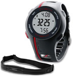 Garmin Forerunner 110 Mens Red Watch Withhrm Forerunner 110 Bundle