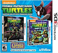 Activision 047875770645 Teenage Mutant Ninja Turtles: Master Splinter's Training Pack - Action/adventure Game - Nintendo 3ds