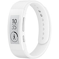 """Sony Smartband Talk Swr30 - Wrist - Accelerometer, Altimeter - Email, Text Messaging - Sleep Quality - 1.4"""" - 320 X 320 - Bluetooth - Bluetooth 3.0 - 1 Hour - White - Communication 1291-6172"""