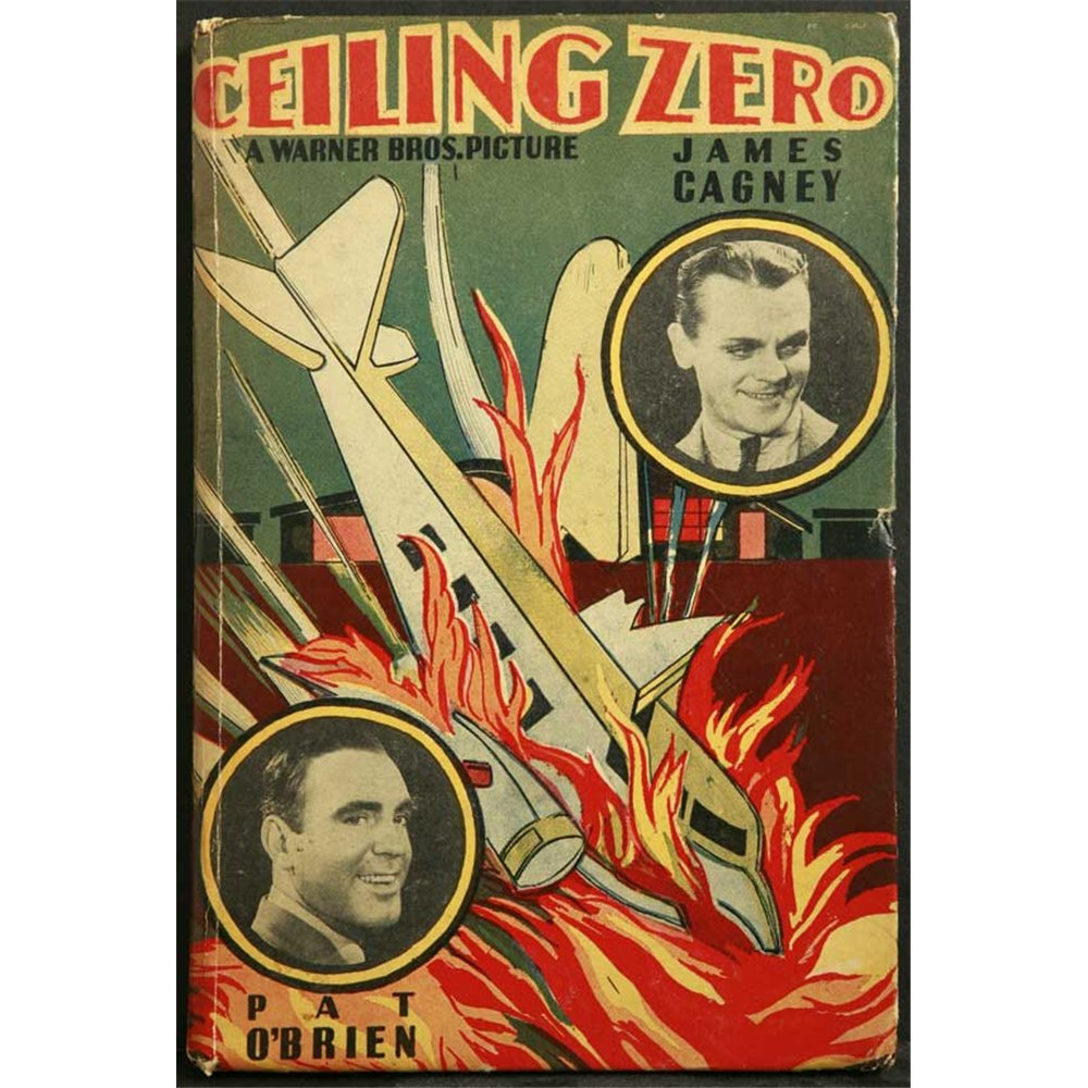 Ceiling Zero Poster Movie 27 x 40 In - 69cm x 102cm James Cagney Pat O'Brien June Travis Stuart Erwin Henry Wadsworth Isabel Jewell