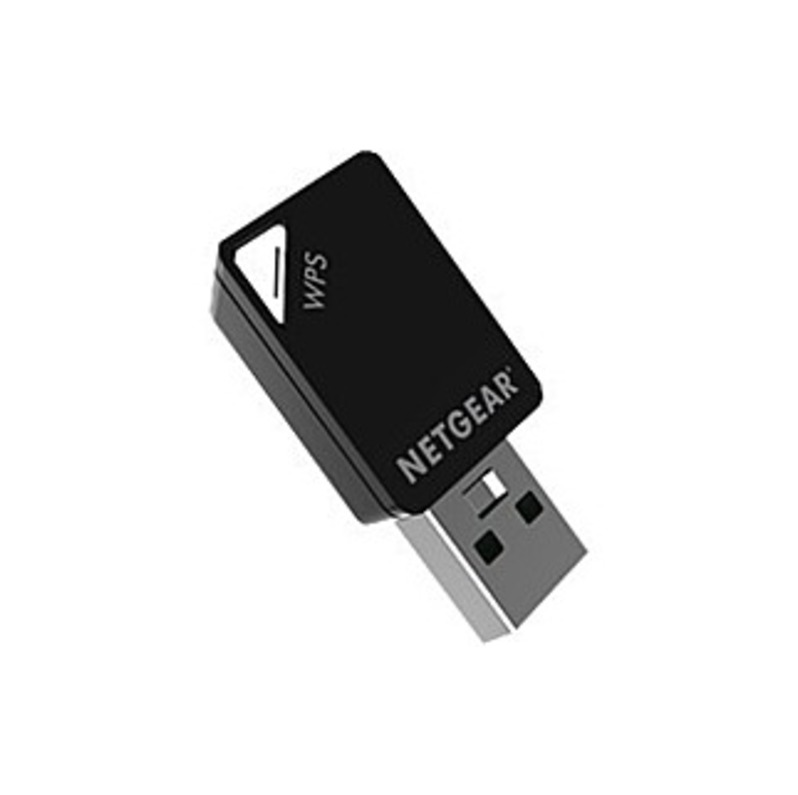 Netgear Ac600 Ieee 802.11ac - Wi-fi Adapter For Desktop Computer/notebook - Usb - 600 Mbit/s - 2.40 Ghz Ism - 5 Ghz Unii - External