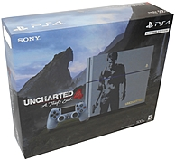 Sony Uncharted 4 Playstation 4 Bundle - Game Pad Supported - Wireless - Gray Blue - Amd Radeon - Blu-ray Disc Player - 500 Gb Hdd - Gigabit Ethernet - Bluetooth - Wireless Lan - Hdmi - Usb - Octa-core (8 Core) 3001068