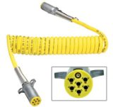 ANC LIGHTHOUSE, 1 x 12ft, 7-Way ISO Yellow Electrical Coil Assembly, 12