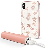 Dabney Lee Ic7088pag-8wh8 Case With Power Bank For Iphone X - Pineapple