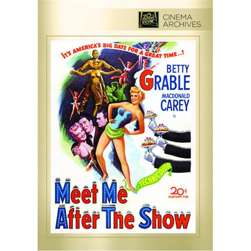 Meet Me After The Show Dvd Movie 1951