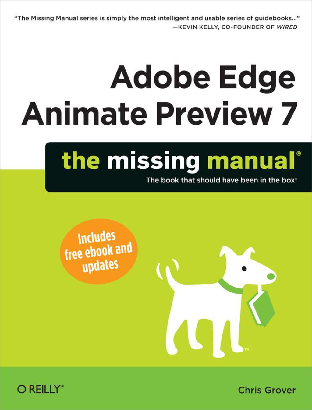 Adobe Edge Animate Preview 7: The Missing Manual (ebook)