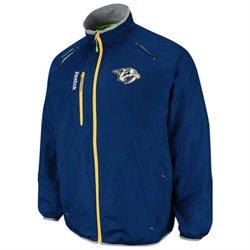 Nashville Predators Reebok 2012 Center Ice Kinetic Rink Full Zip Jacket