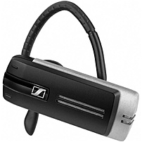Sennheiser Presence Earset - Mono - Black - Wireless - Bluetooth - 82 Ft - 100 Hz - 15 Khz - Over-the-ear - Monaural - Outer-ear 504575