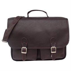 Piel Personalized Leather Two Pocket Portfolio - Executive