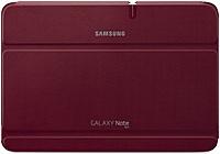 "Samsung Efc-1g2nrecxar Carrying Case (book Fold) For 10.1"" Tablet - Garnet Red - Bump Resistant, Scratch Resistant"