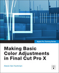 Final Cut Pro's color correction tools lets you precisely control the look of your images