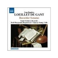 Loeillet: Sonatas or Solos for a Flute, Op. 1-4 (Music CD)