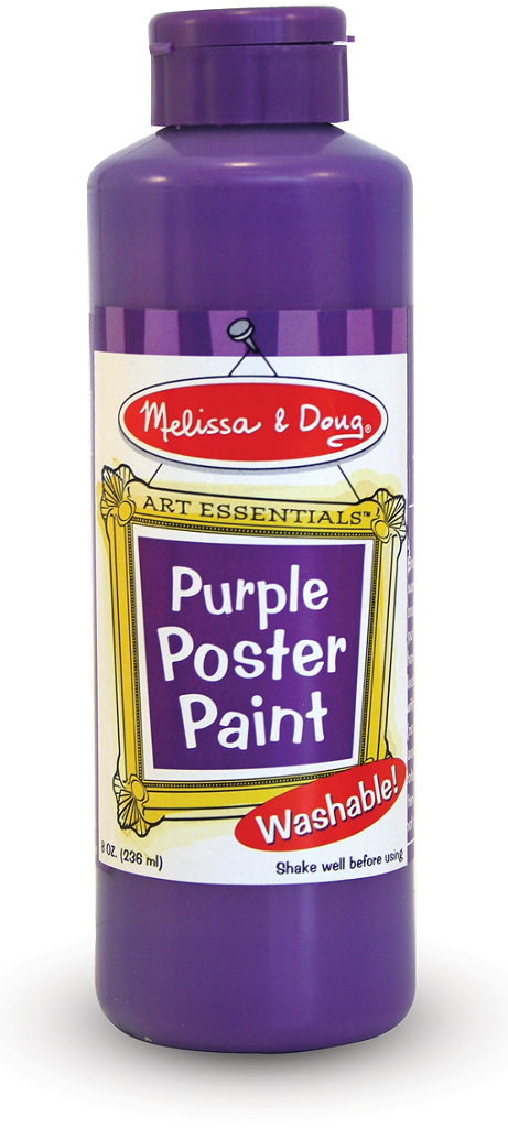 Purple Poster Paint (8 oz)