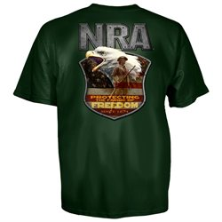 NRA National Rifle Association Protecting Freedom T-Shirt-xl