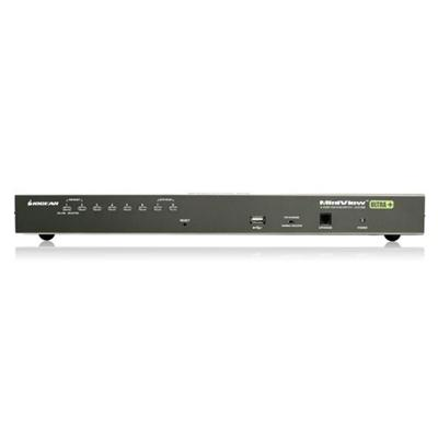 Iogear Gcs1808 Miniview Ultra  Gcs1808 - Kvm / Usb Switch - Ps/2  Usb - 8 X Kvm / Usb - 1 Local User - Desktop