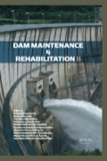 As dams age, they are subject to a series of external agents and processes which tend to deteriorate the qualities with which they were originally conceived to stand against these actions