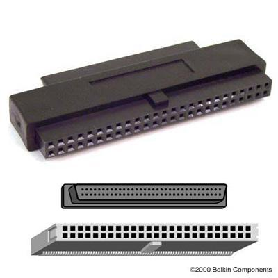 SCSI internal adapter - HD-68 (F) - 50 pin IDC (F)