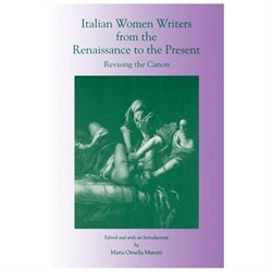 Italian Women Writers From The Renaissance To The Present