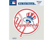 Caseys Distributing 3208587163 New York Yankees Die-Cut Decal- 8 in. x 8 in. Color Prime