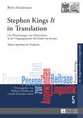 Stephen King's «it» In Translation